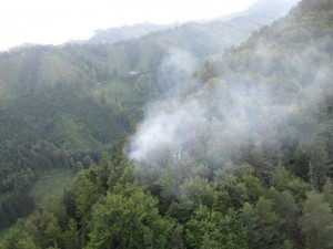 Waldbrand Stübing