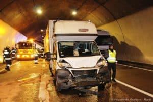 Verkehrsunfall A9 im Gratkorntunnel