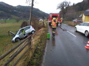Verkehrsunfall auf L35